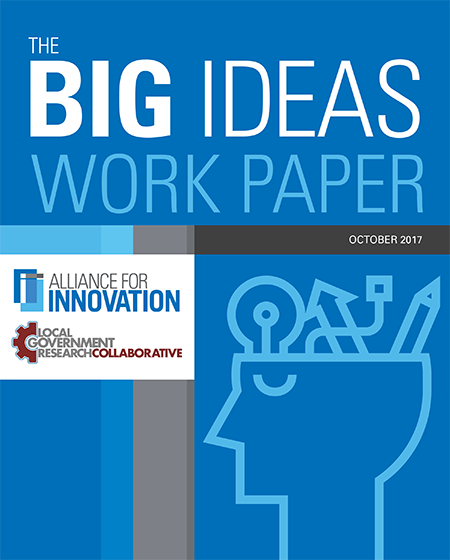 cover of Big Ideas October 2017 paper